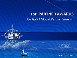 2011 Partner awards
