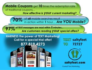 Mobile Coupons  get  10  times the redemption rate  of traditional coupons…