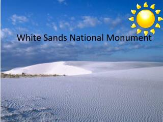 White  S ands National Monument