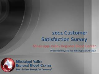 2011 Customer Satisfaction Survey