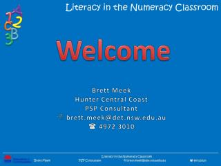 Literacy in the Numeracy Classroom