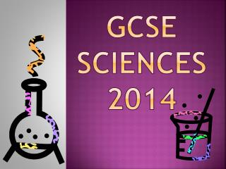 GCSE Sciences 2014