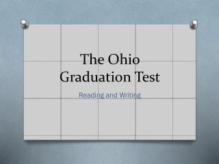 The Ohio Graduation Test