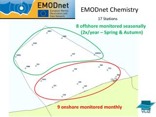 9 onshore monitored monthly