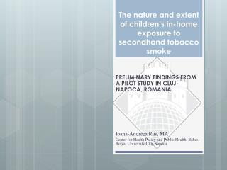 The nature and extent of children's in-home exposure to secondhand tobacco smoke