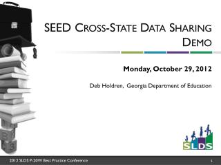 SEED Cross-State Data Sharing Demo