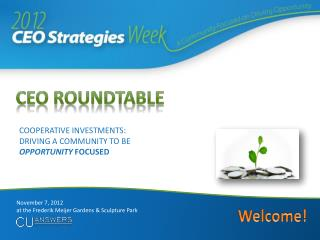 CEO Roundtable