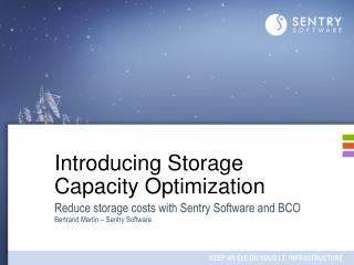 Introducing Storage Capacity Optimization