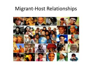 Migrant-Host Relationships