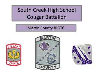 South Creek High School Cougar Battalion