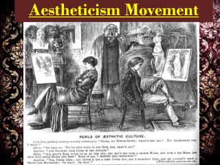 Aestheticism Movement