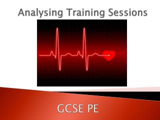 Analysing Training Sessions