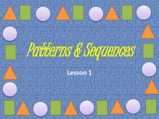 Patterns & Sequences
