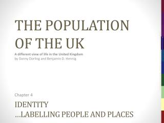 Identity … labelling  people and places