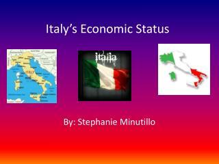 Italy's Economic Status