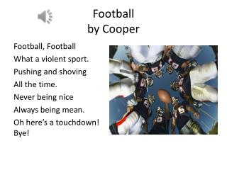 Football  by Cooper