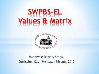 SWPBS-EL Values & Matrix