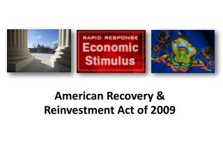 American Recovery & Reinvestment Act of 2009