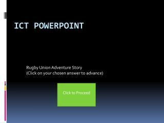 ICT Powerpoint