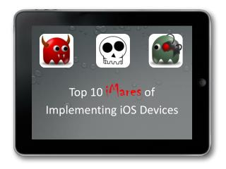 Top 10 iMares of Implementing iOS Devices