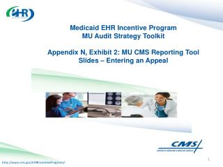 Medicaid EHR Incentive Program  MU Audit Strategy Toolkit