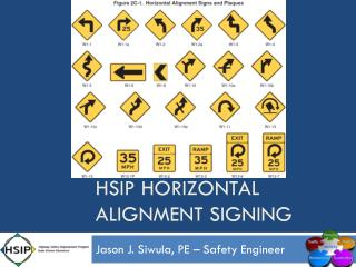 Hsip  horizontal alignment signing