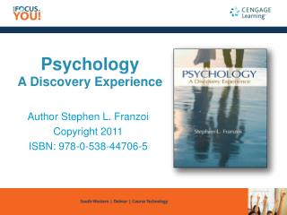 Psychology A Discovery Experience