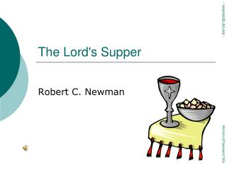The Lord ' s Supper