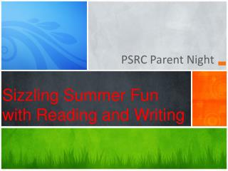 Sizzling Summer Fun with Reading and Writing