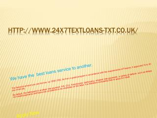 Say Text Loans No Credit Check : Quick Txt Loans Feature
