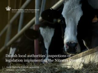 Danish local authorities' inspections of legislation implementing the Nitrates Directive