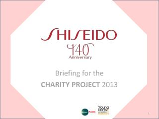 Briefing for the CHARITY PROJECT  2013