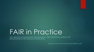 Identifying Research-Informed Principles of Practice