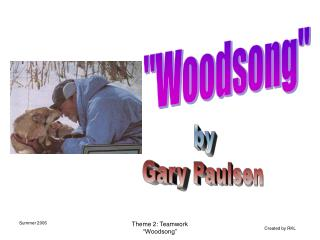 """""""Woodsong"""""""