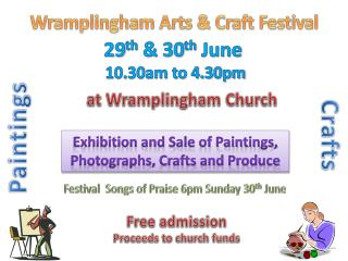 Wramplingham  Arts & Craft Festival