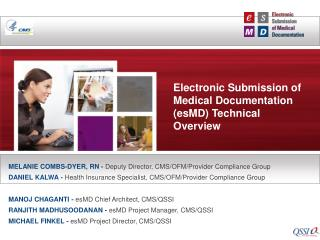Electronic Submission of Medical Documentation (esMD) Technical Overview