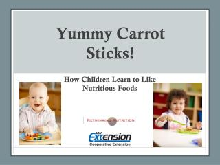 Yummy Carrot Sticks!