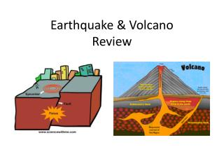 Earthquake & Volcano Review