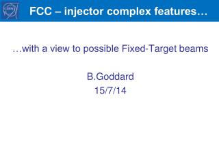 FCC – injector complex features…