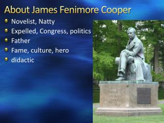 About James Fenimore Cooper