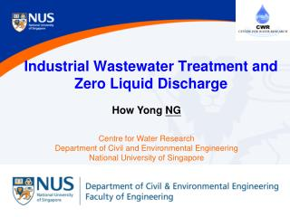 Industrial Wastewater Treatment and  Zero Liquid Discharge