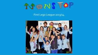 First Lego League 2013/14