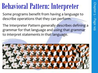 Behavioral Pattern: Interpreter
