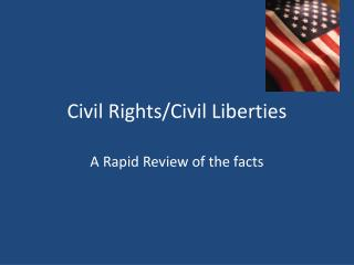 Civil Rights/Civil Liberties
