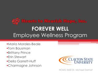 FOREVER WELL Employee Wellness Program