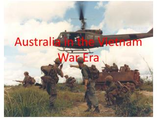 Australia in the Vietnam War Era