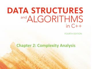 Chapter 2: Complexity Analysis