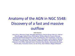 Anatomy of the AGN in NGC 5548: Discovery of a fast and massive outflow