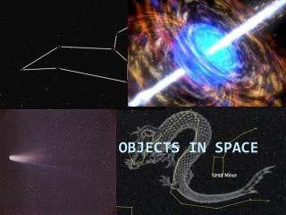 Celestial Objects in Space
