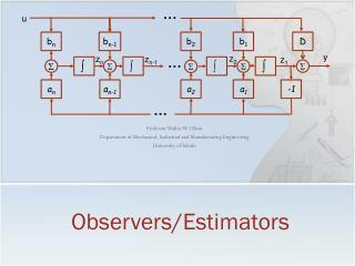 Observers/Estimators